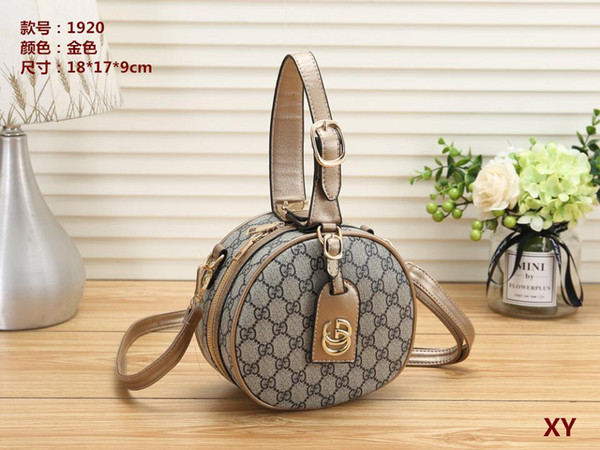 Women's Handbag Classic Small Series Of Fashion Hot Mom Lady Chain Bag Elegant Bulk Corrugated Woman Leather Shoulder Purse Handbags BagH171