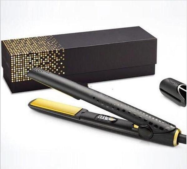 2019 V Gold Max Piastra per capelli Classic Styler professionale Fast Hair Straighteners Iron Hair Styling strumento di buona qualità