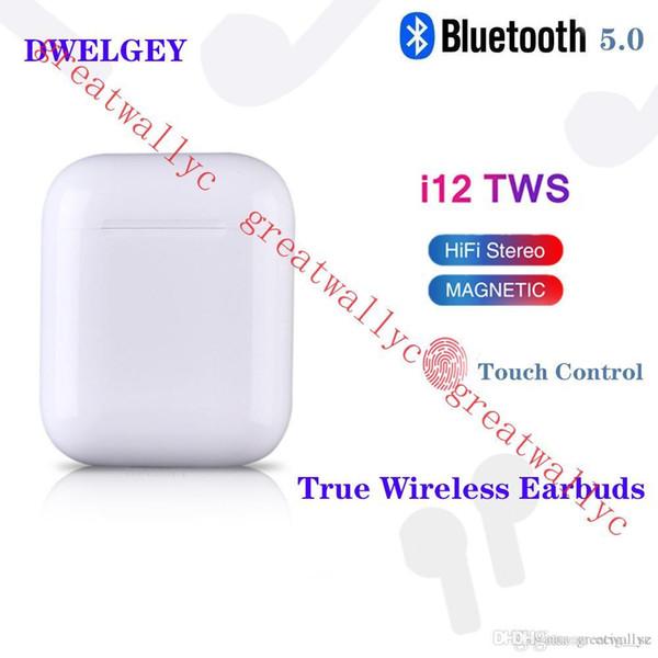 I12 tw touch wirele earbud with pop up window v5 0 bluetooth headphone ture tereo earphone wirele head et earbud touch control iri