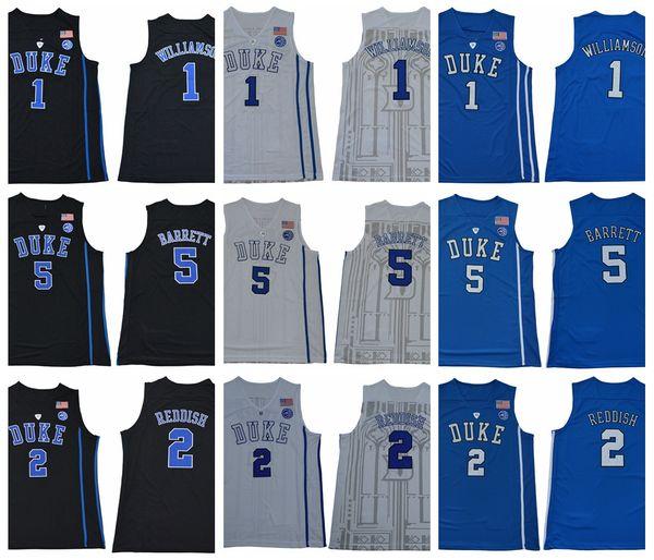 a317e2f91 ... College Basketball Wears. Mens Duke Blue Devils 1 Zion Williamson 2 Cam  Reddish 5 R. J. Barrett RJ Barrett New