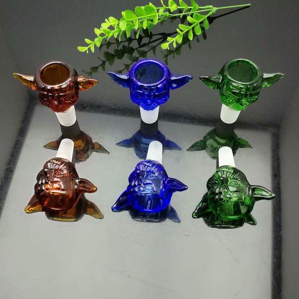 Цвет Крыло Стеклянная Пузырьковая Головка Конвертер 14 мм Оптовая Бонги Трубы Горелки Нефтепровод Трубы Стеклянные Трубы Нефтяные Установки Курение