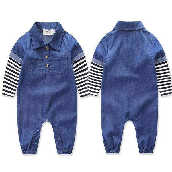 Baby Girl Romper Baby onesie ropa bebe Infant Unisex Long Sleeve Autumn Jumpsuit 4size for 0-2T
