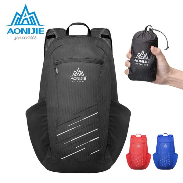 AONIJIE H944 18L Ultraligero Práctica plegable Mochila plegable Bolsa de viaje Material de viaje Mochila de día al aire libre