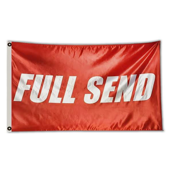 Completamente emite a bandeira da bandeira Nelk Nelkboys para o partido do dormitório da faculdade dos meninos Pendure o sinal (vermelho)