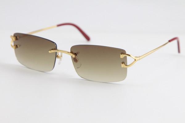 Dourado lente marrom degradê