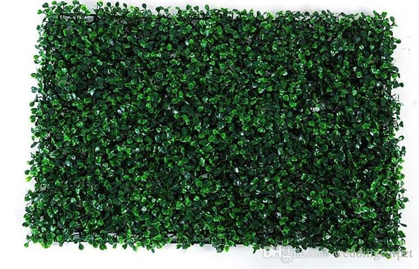 NEW 40x60cm Green Grass Artificial Turf Plants Garden Ornament Plastic Lawns Carpet Wall For Wedding Xmas Party Decor