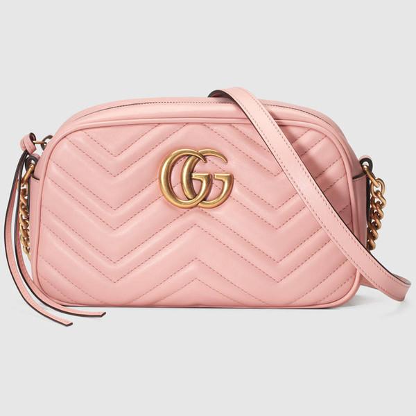 bolsos de hombro bolsos de las mujeres bolsos de embrague de lujo bolsos monederos de cuero de lujo de mano bolso de hombro rosa 01236 8751 1312-2332