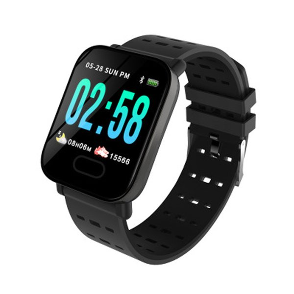 A6 Smart band Watch Touch Screen Water Resistant Bluetooth Waterproof Smartwatch Phone with Heart Rate Monitor Sport Running Calories band