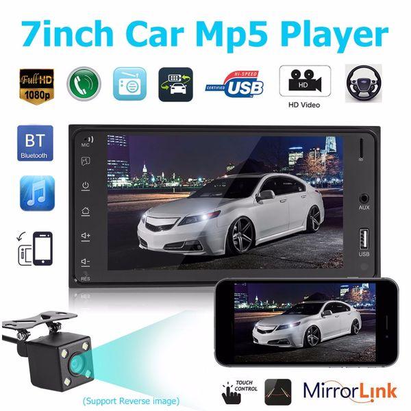7-Zoll-Touchscreen Auto MP5-Player Autoradio Autoradio Bluetooth USB FM Radio Audio Stereo für Toyota Corolla
