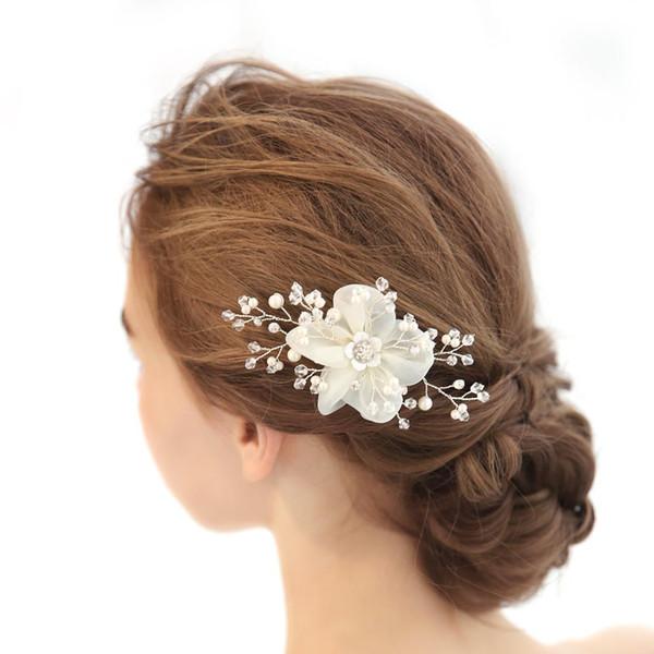 1 unid novia Headwear boda Rhinestones Crystal estilo europeo decoración para