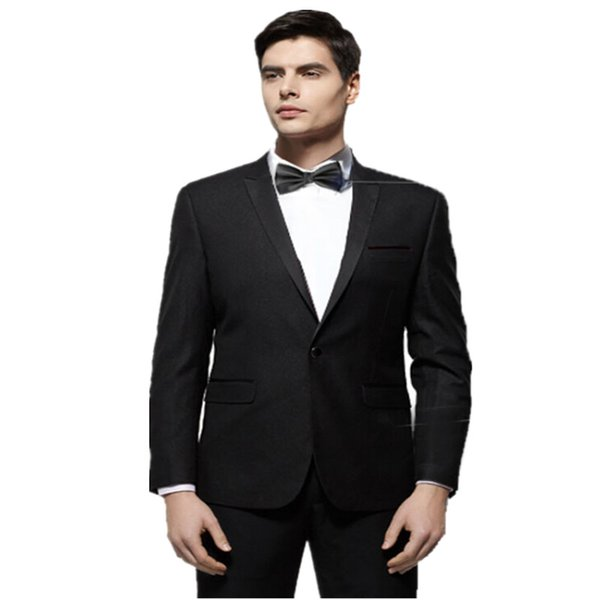 2019 fashion slim fit pure color mens suits pure color men wedding suits formal occasion wedding occasion mens suits the groomsman/groom sui