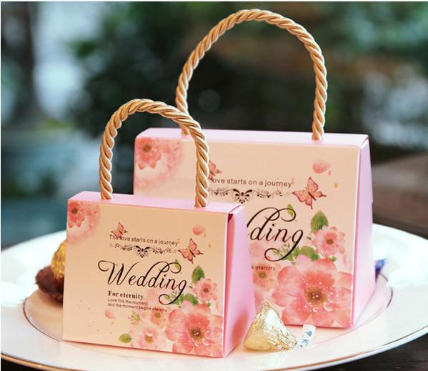 High Class Wedding Favors Gift Boxes New Arrival Hard Card Paper Made Favor Holders Favour for Candy