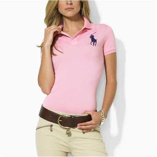 Camisa de polo de manga corta con solapa de 17 camisas para mujer, color 2019, polos con estampado de logo para dama con logo