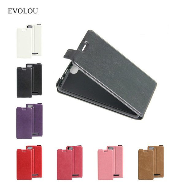 phone bag BQ 5020 Case Flip Leather Cover For BQ Strike 5020 Telephone Cases BQS-5020 5.0 Luxury Open Up And Down Protective