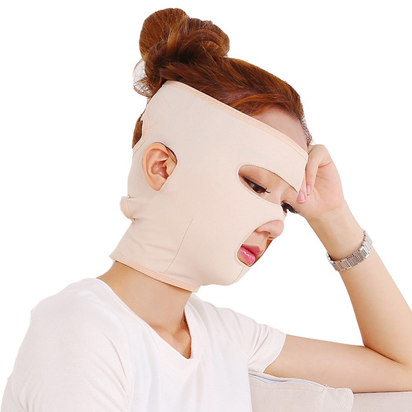 Hot Sell Full Face-lift masks Health Care Thin Face Mask Slimming Facial Thin Masseter Double Chin Beauty Face Lifting Bandage Belt