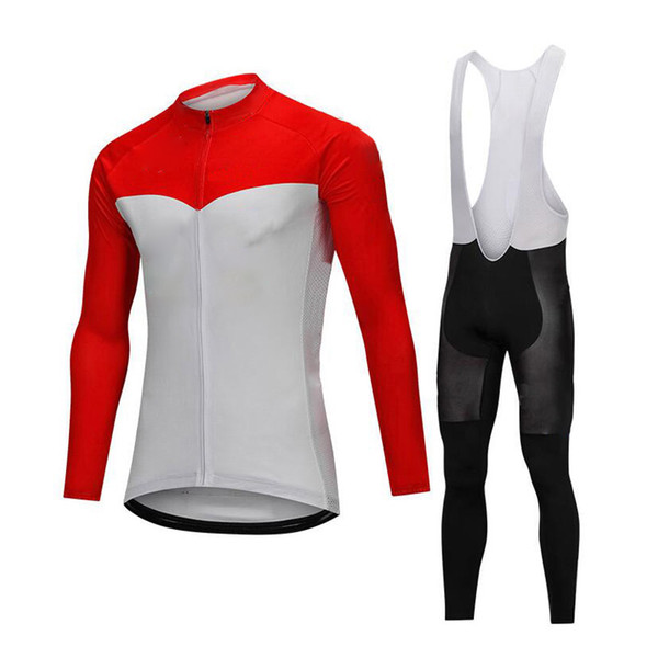 Professional Spring Riding Bicycle Cycling Clothing Long Sleeve Sport Jerseys Bicycle Clothes Bike Race Wear Tights