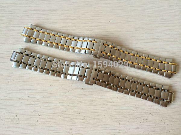 12 мм T077417A новый чистый твердый из нержавеющей стали prx ремешок для часов ремешок браслеты для T077