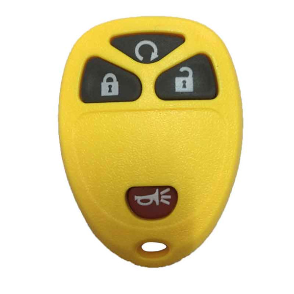 Colorful 4Buttons Keyless Remote Fob Key Shell Case Rubber Housing Pad For Buick