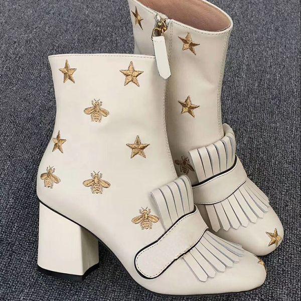 Yeni Yüksek son moda bayan ayakkabı vahşi klasik moda orijinal kısa botlar basit tarzı bayan botları