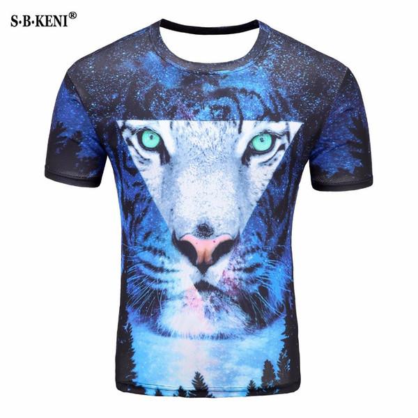Maglietta creativa delle magliette delle donne degli uomini della stampa 3D Maglietta divertente di modo delle magliette di Hip Hop Fashion T-shirt degli uomini 2019 di estate