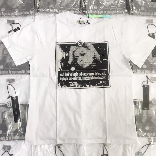 Cav Empt camiseta retrato de señora Print para hombre mujer Casual estilo chino camiseta Cav Empt negro blanco Sketch Logo Cav Empt camisetas
