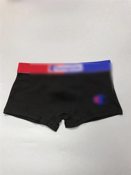 Campeão Mens Boxers Designer Despeje Hommes Algodão Marca Underwear Brief Shorts Respirável Cuecas de Lazer Esporte Masculino Apertado Cós B3182