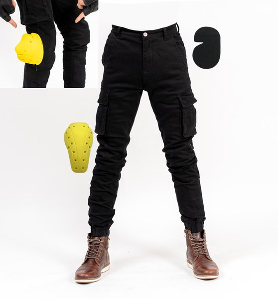 MOTO-PANTS motorcycle riding pants spring new casual Japanese retro sports beam foot overalls men and women
