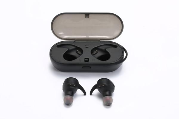 TOUCH TWO TWS Drahtloser Kopfhörer Bluetooth 5.0 Headset 3D Stereo Musik Bluetooth Kopfhörer Ohrbügel Sport Hörmuschel Ladung Aufbewahrungsbox