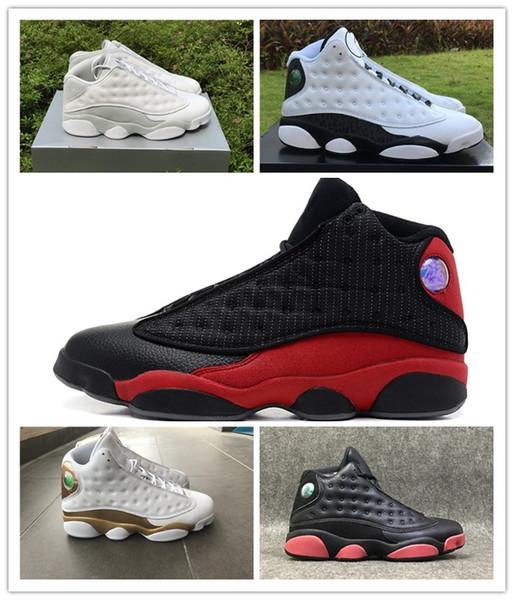 Compre NIKE Air Jordan 13 Retro Air 13 Wolf Grey De Alta Calidad, Zapatillas De Baloncesto De Color Rosa Fatal Blanco Chicago Descuento Zapatos
