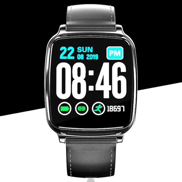 Смарт Часы Мужчины Женщины Полный сенсорный экран Фитнес Tracker сердечного ритма сна Монитор водонепроницаемый моды Спортивные часы для Android