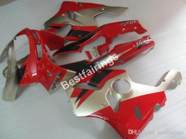 ABS plastic fairings for Kawasaki Ninja ZX6R 1994 1995 1996 1997 red silver fairing kit ZX6R 94 95 96 97 MT13