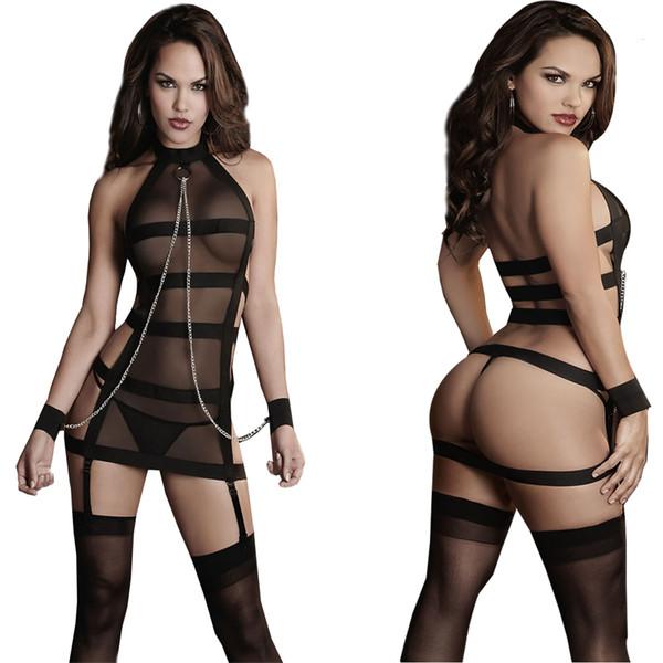 2016 Femmes Sexy Lingerie Hot Porn Dentelle À La Main Lingerie Poupée Sexy Costumes Manille Bundled Sexe Produits Exotique Apparel 25 C19010801