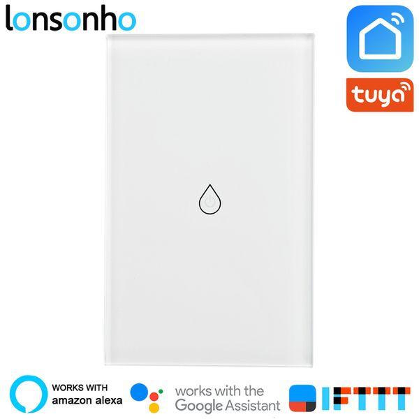 Lonsonho Wifi Smart Water Heater Switch Boiler Touch Panel Switch Tuya  Smart Life App Works With Alexa Google Home Mini IFTTT Intelligent Homes  Light