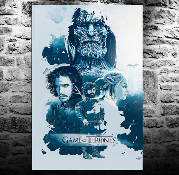 2019 Game Of Thrones Season 7 Poster Home Decor Hd Printed Modern Art Painting On Canvas Unframed Framed From Qq53561562 5 98 Dhgate Com