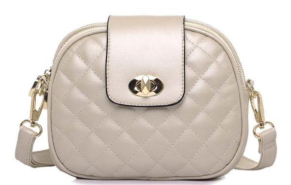Yeni moda kadın kozmetik çantası eşkenar dörtgen desen Makyaj çantası kadın yüksek kaliteli omuz Messenger çanta ücretsiz kargo