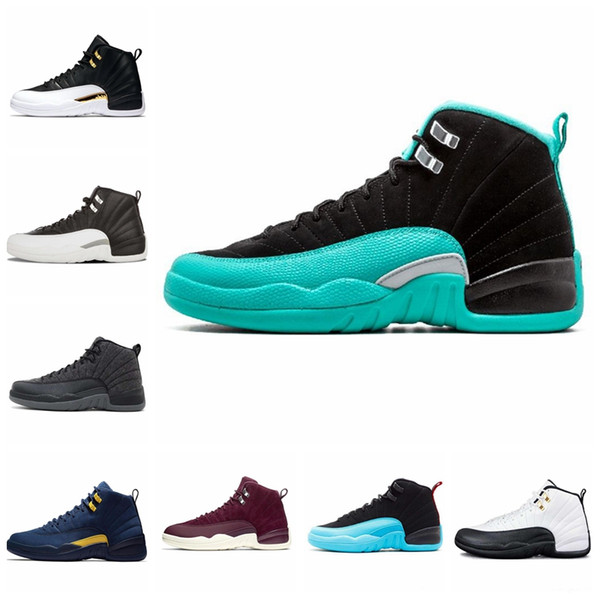 12 12S CNY Chinese Men and Women Basketball Shoes WNTR Michigan Gym red International Flight Jams mens sports sneakers designer