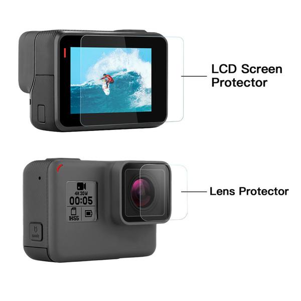 Objektiv-Schirm Protecto-für GoPro 7 schwarz