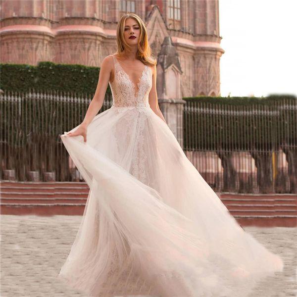 Steady Beach Lace Appliques W Dress Vestido De Noiva O Neck Lace Mermaid Gorgeous Bridal Gown Custom Made Wedding Dress Weddings & Events