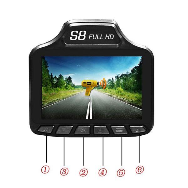HD 2 IN 1 Durable Car Driving Recorder 3.0 inch Radar Speed Laser Detector Warning Car DVR Rocorder Vehicle Car Electronics