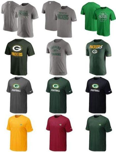 Green Bay New Trend Packer 2018 Men Sideline Legend Pro Line by Fanatics Retro Polychrome T-Shirt