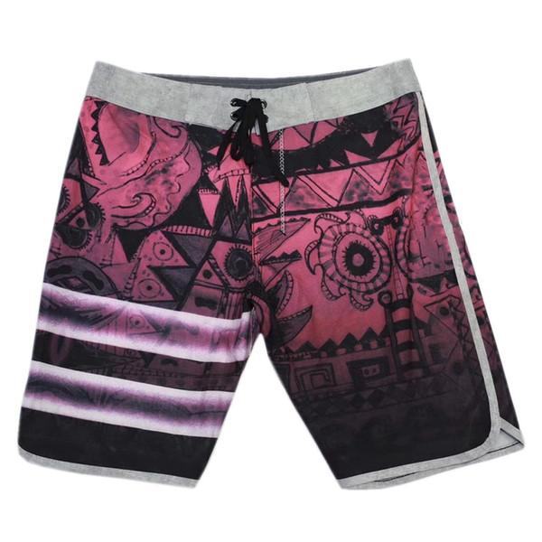best selling BRAND NEW 4Way Stretch Boardshorts Mens Spandex Swim Trunks Surf Pants Bermuda Shorts Board Shorts Beachshorts Male Plus Size Casual Shorts