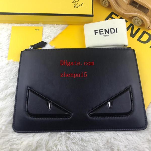 2016 nuovo marchio borsa da uomo cerniera lunga pochette telefono moda garanzia di alta qualità modello occhi rettangolare frizione AB-29
