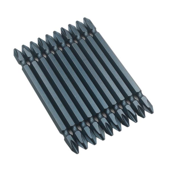 Çelik Sertleştirilmiş Çift Çapraz Rüzgar Kafası ile 100 Mm 1/4 Manyetik Çift Kafa Elektrikli Tornavida Pnömatik Toplu Tsui
