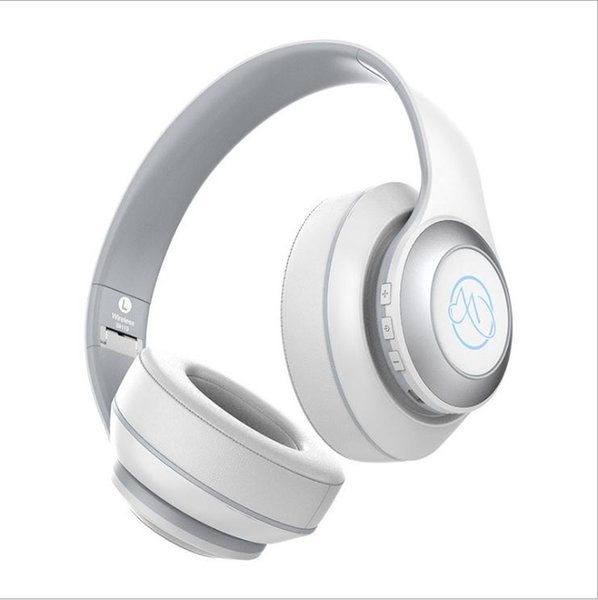 2019 New BH10 bluetooth headphones head-mounted metal folding light bluetooth headset wireless sports phone headset with mic