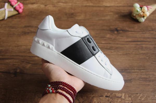 Atacado homens baratos das mulheres designer de luxo tênis sapatos abertos com qualidade superior 9 cores caixa original para venda 7gav