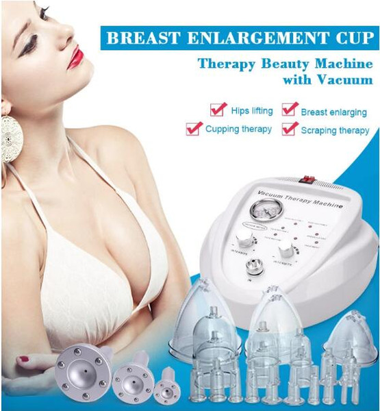 Vacuum terapia de masaje que adelgaza la nalga de la ampliadora de senos Aumento de cuerpo que forma la elevación del seno Inicio utilización de la máquina Cuidado de la Salud