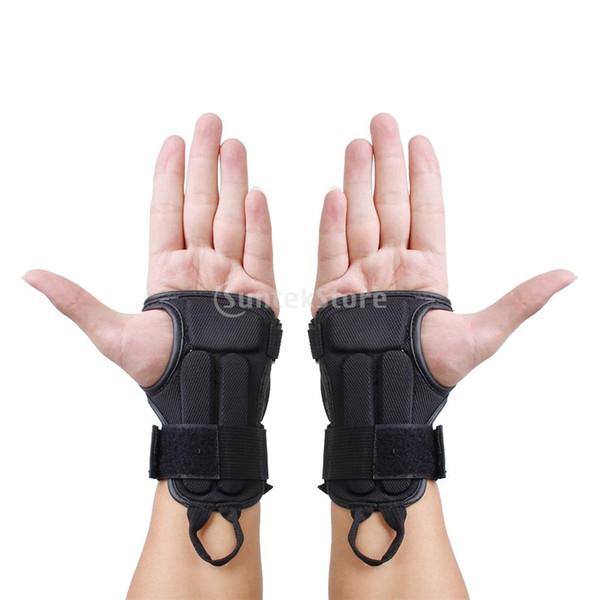 1 Paar Snowboard Ski Schutzausrüstung Handschuh Sport Handgelenkstütze Schutzpolster Klammer M