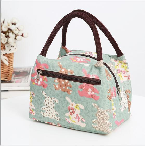 Hand-held Bento bag Bento Pack Waterproof Mommy Pack Lady Lunch Pack lunch box bags small cloth bag handbag