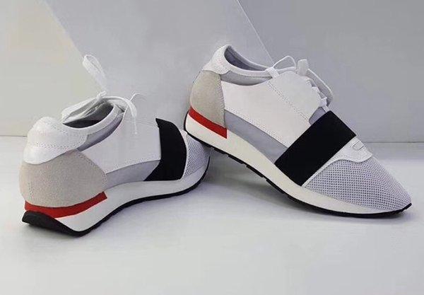 Weiß / Weiß rot unten