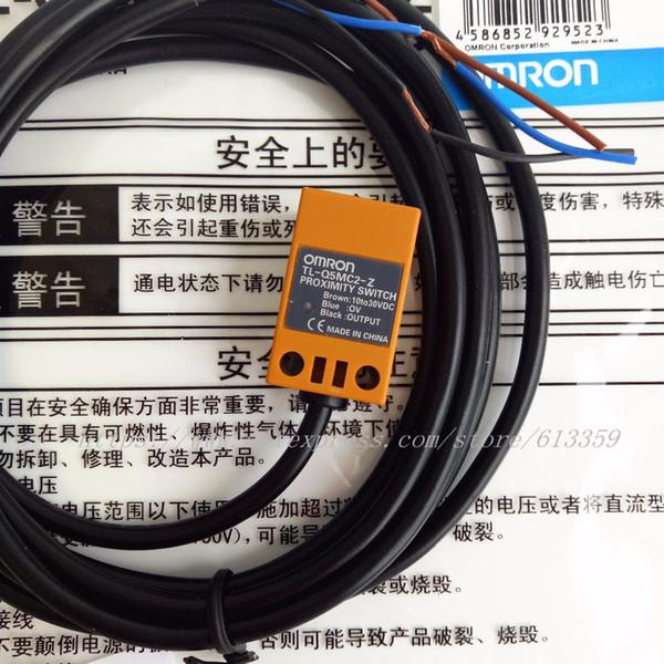2 PCS TL-Q5MC1-Z TL-Q5MC2-Z TL-Q5MB1-Z NPN / PNP NÃO / NC Omron Interruptor de Proximidade Sensor Indutivo 3 Fio DC10-30V 100% Original Novo